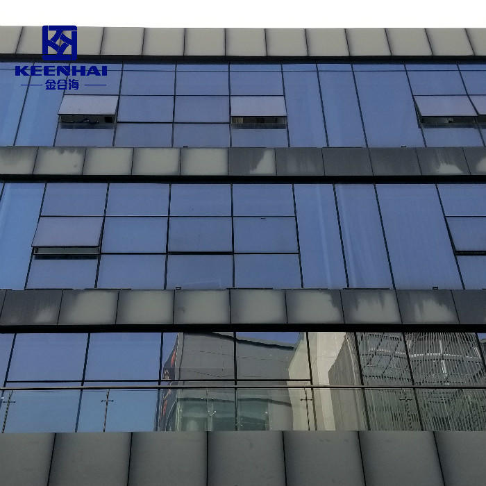Cladding Aluminum Single Solid Panel For Curtain Wall