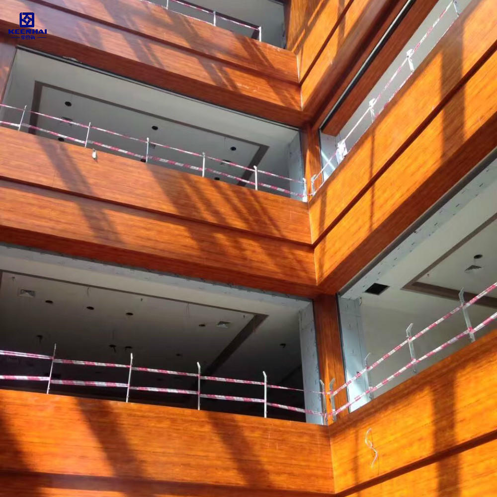 Decorative Exterior Facade Panel Aluminum Solid Panel