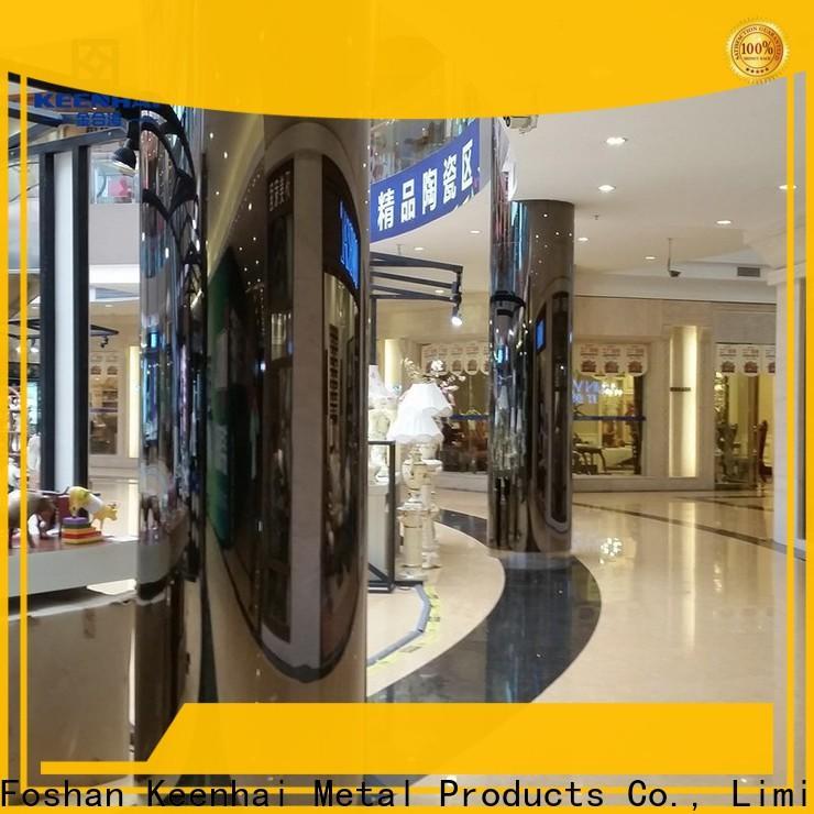 Keenhai cheap metal cladding panels manufacturer for public square