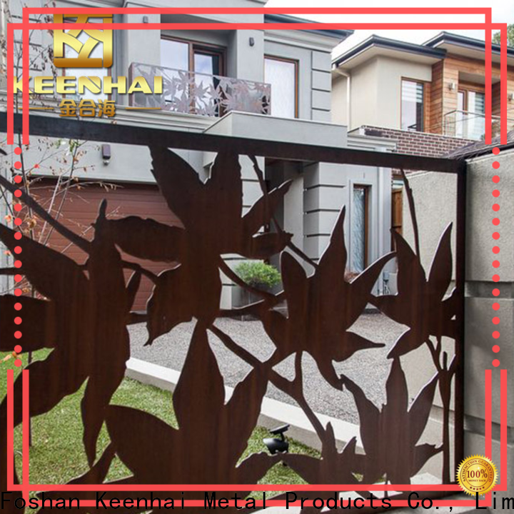 Keenhai grandeur outdoor decorative screens provider for office