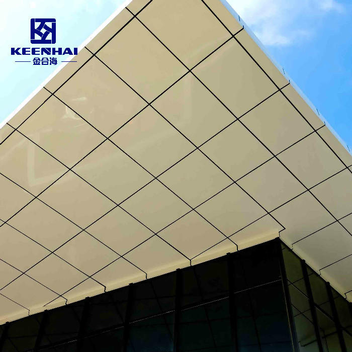 Aluminum Solid Panel Curtain Wall building Metal Facade