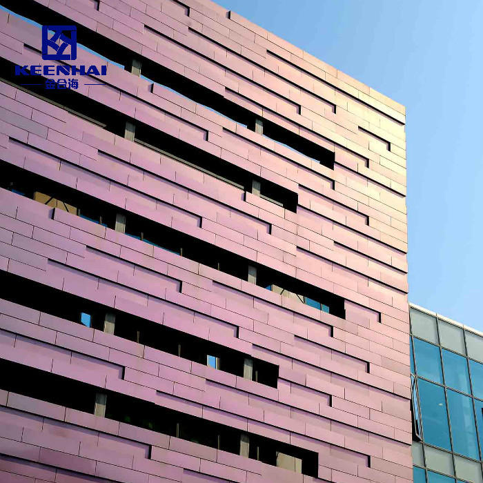 Custom Aluminum Solid Panel For Curtain Wall System
