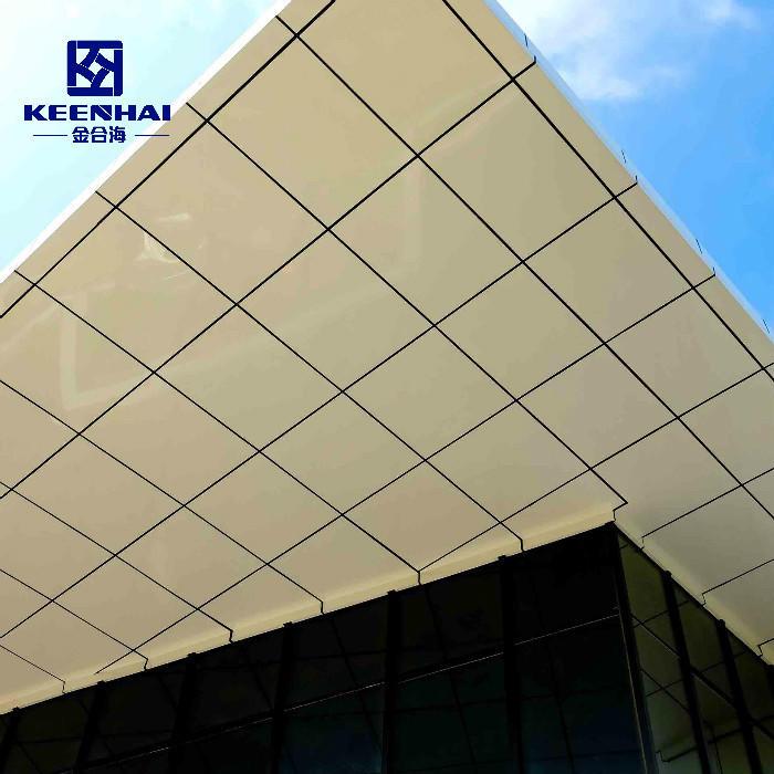 Exterior Building Facade Aluminum Veneer Solid Wall Panel Cladding