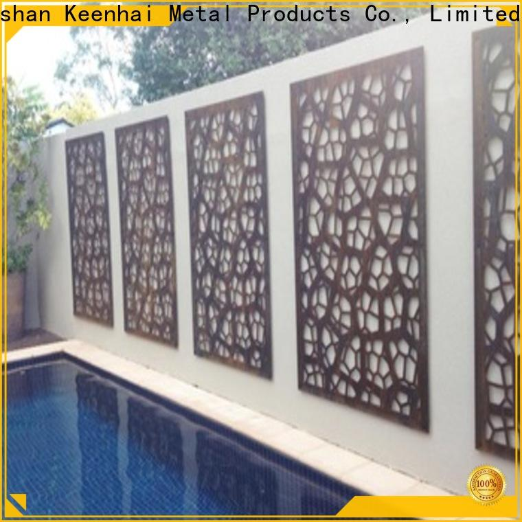 standard outdoor Metal Screen perforated trader for hotel lobby