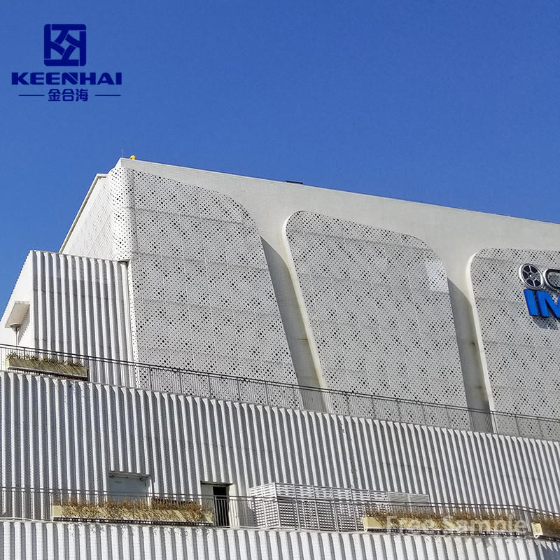 Easy Installation Building Materials Metal Panels Perforated Aluminum