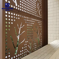 Aluminum Perforated Facade Panel In Construction Designs For Clients Choose