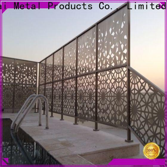 Keenhai decoration outdoor decorative screens provider for shops