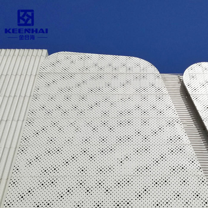 Aluminum Engraved Perforated Sheet Panel For Exterior Wall Decoration