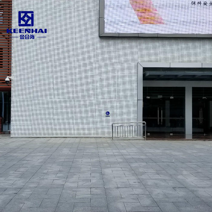 Best Customized Facade Panel Perforated Aluminum Cladding Panels Factory