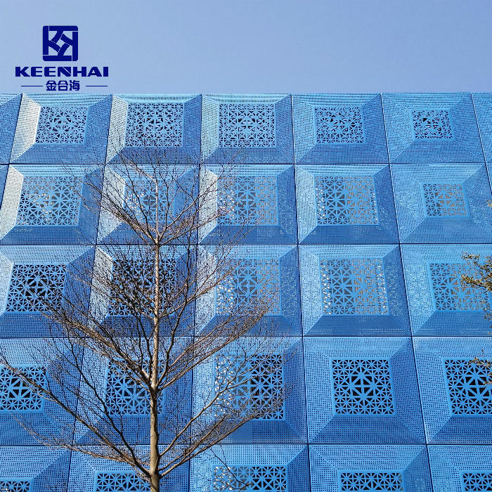 Best Price Perforated Sheet Meta Laluminum Profile Curtain Wall