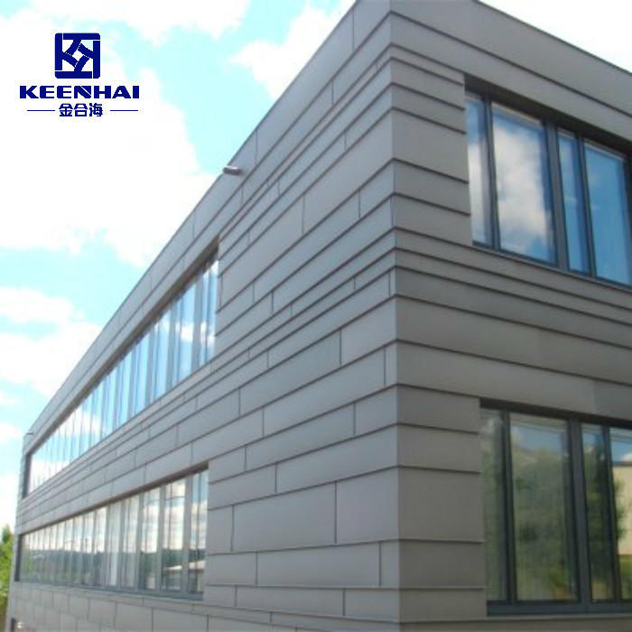 Construction Exterior Wall Facade Solid Color Aluminum Panels