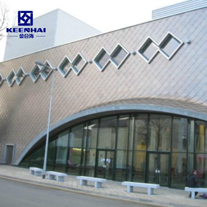 Wholesale Exterior Wall Facade Solid Color Aluminum Panels  From Keenhai