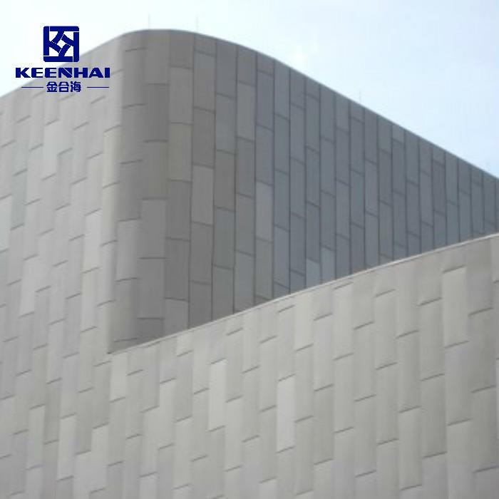 Building Cladding Aluminum Single Panel Metal Aluminum Solid Panel