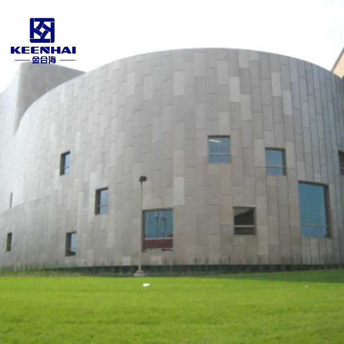 Metal Aluminum Solid Panel For Curtain Wall And Facade Cladding