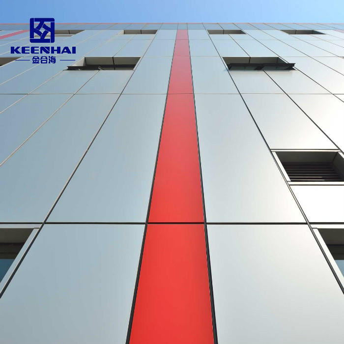 Exterior Curtain Wall Aluminum Facade Solid Panel