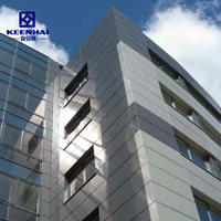 Guangdong Manufacture Exterior Curtain Wall Aluminum Facade Solid Panel