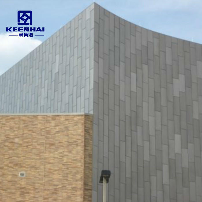 Aluminum Cladding Panel For Outdoor Solid Cladding Facade