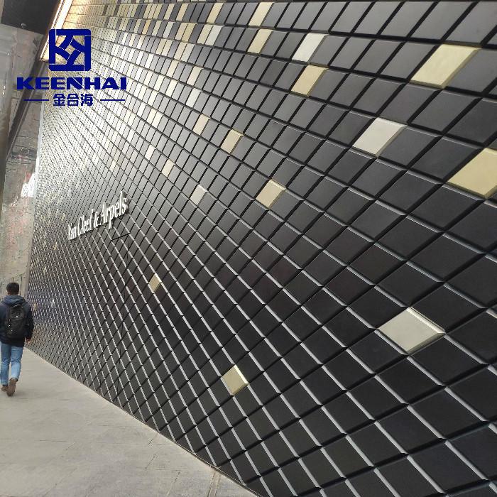 Aluminum Cladding Panel For Outdoor Solid Cladding Facade