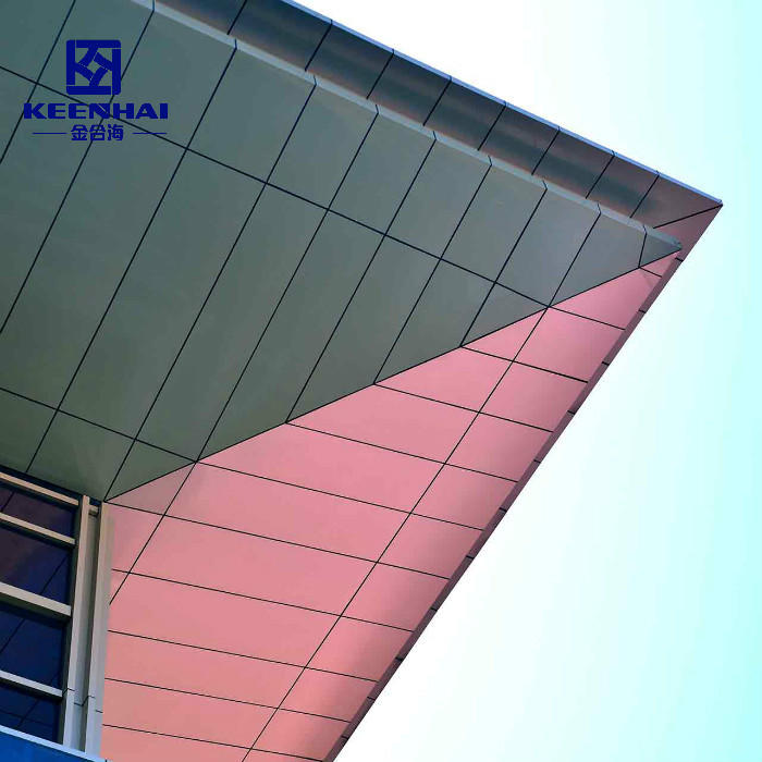 Aluminum Solid Cladding Facade Panel For Building Decoration