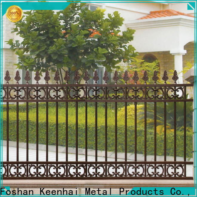 cheap garden fence customized for villa