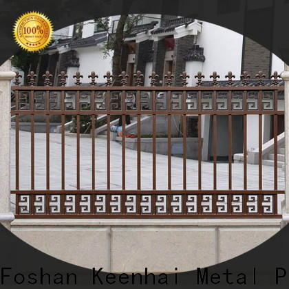Keenhai cheap metal fence panels supplier for public square