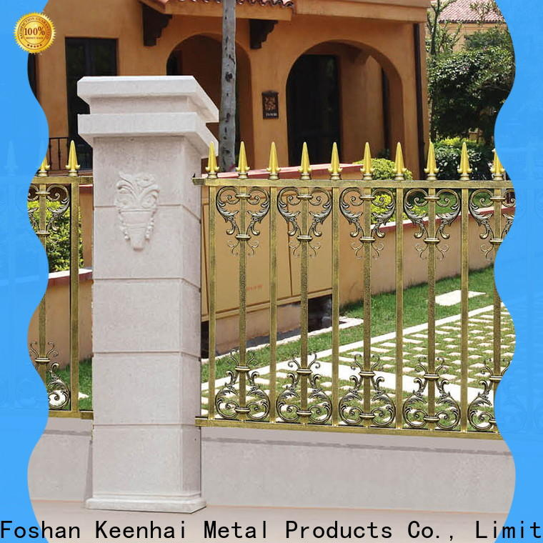 cheap garden fence metal manufacturer for hotel