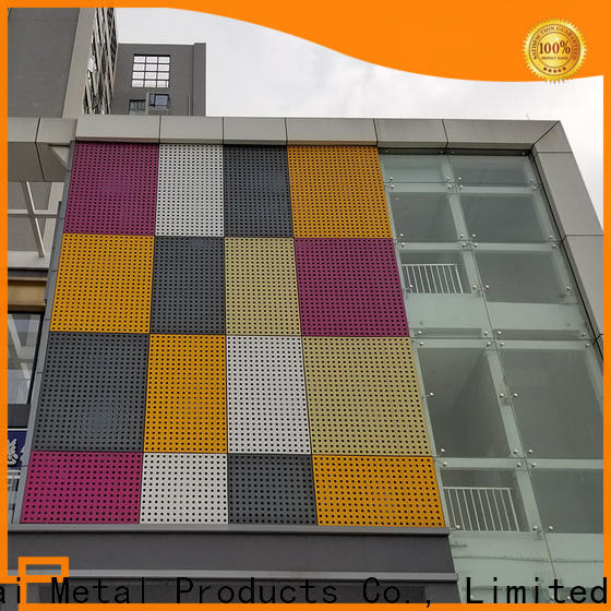 Keenhai exterior perforated aluminum sheet for industrial projects