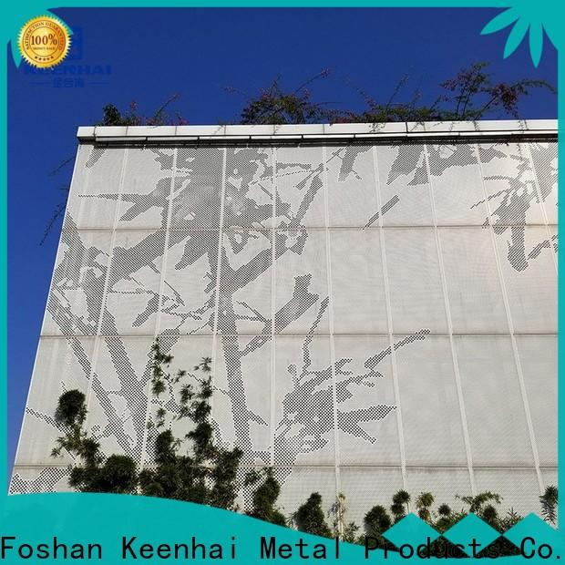 sturdy construction perforated metal sheet metal design for hotel