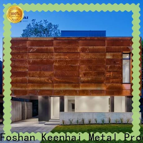Keenhai house corten steel cladding from China for decoration