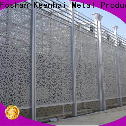 Keenhai panel temporary garden fencing for hotel