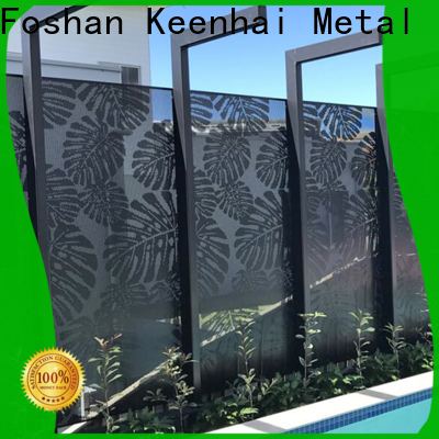 Keenhai cheap temporary garden fencing supplier for villa