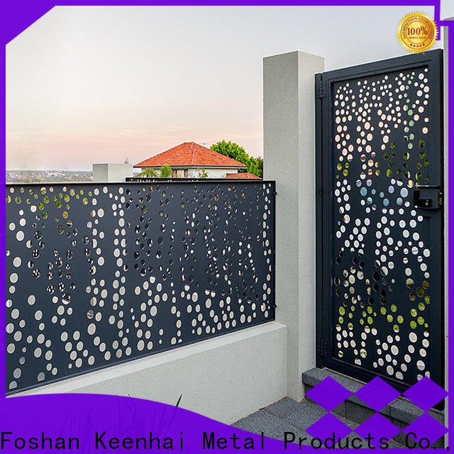 Keenhai high quality decorative fence panels from China for decoration