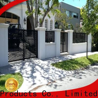 Keenhai outdoor aluminum fence supplier for hotel