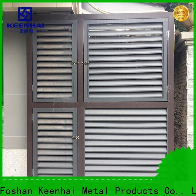 Keenhai elegant design aluminum gable vents factory
