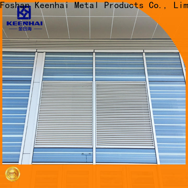 Keenhai ventilating aluminum gable vents solution provider for villa