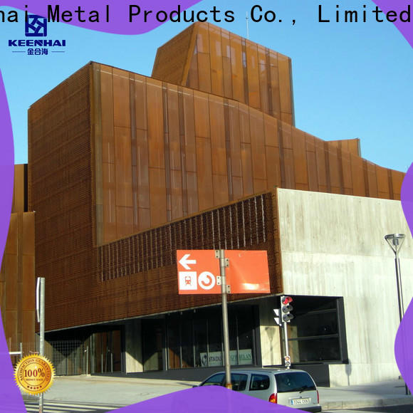 Keenhai wall corten steel siding from China for decoration