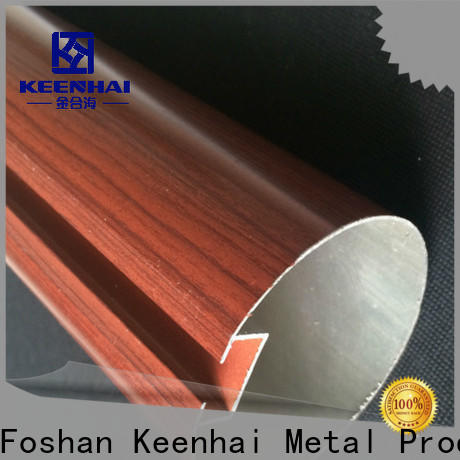 Keenhai baffle steel tubing get quotes for decoration