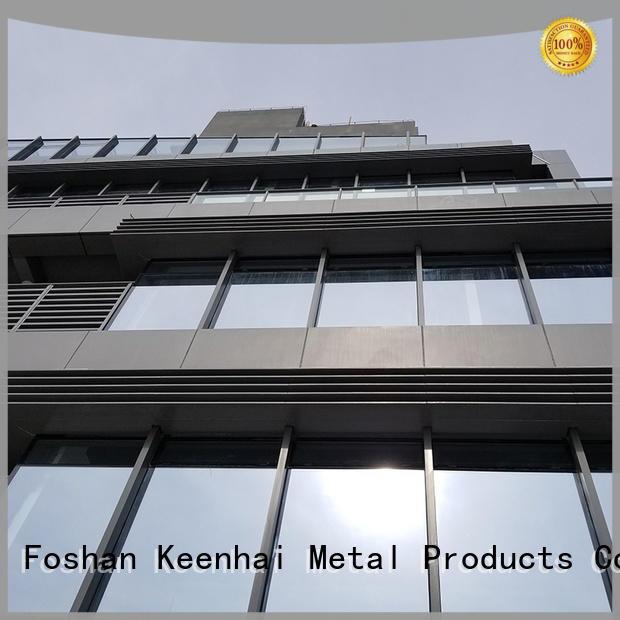standardized aluminum panels screen factory for renovations