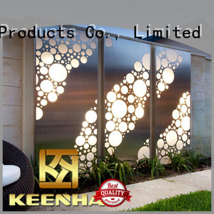 standard outdoor decorative screens pattern provider for hotel lobby
