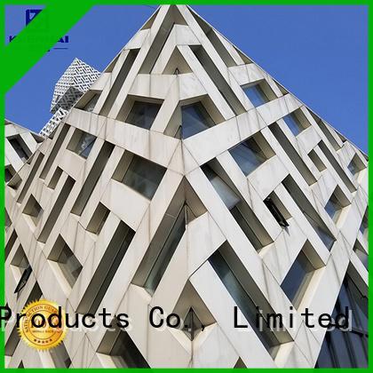 Keenhai aluminum external wall cladding supplier for exterior decoration