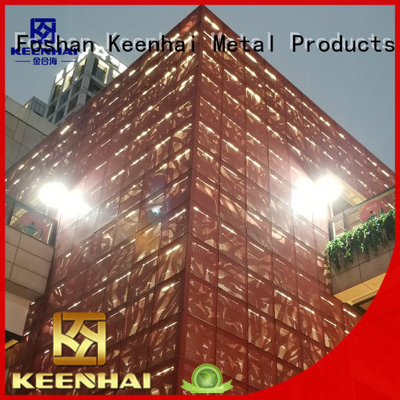 pattern laser cut panels single for architectural projects Keenhai