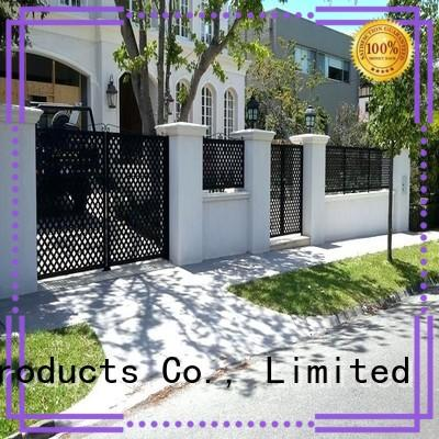 high quality fence panels customized for villa