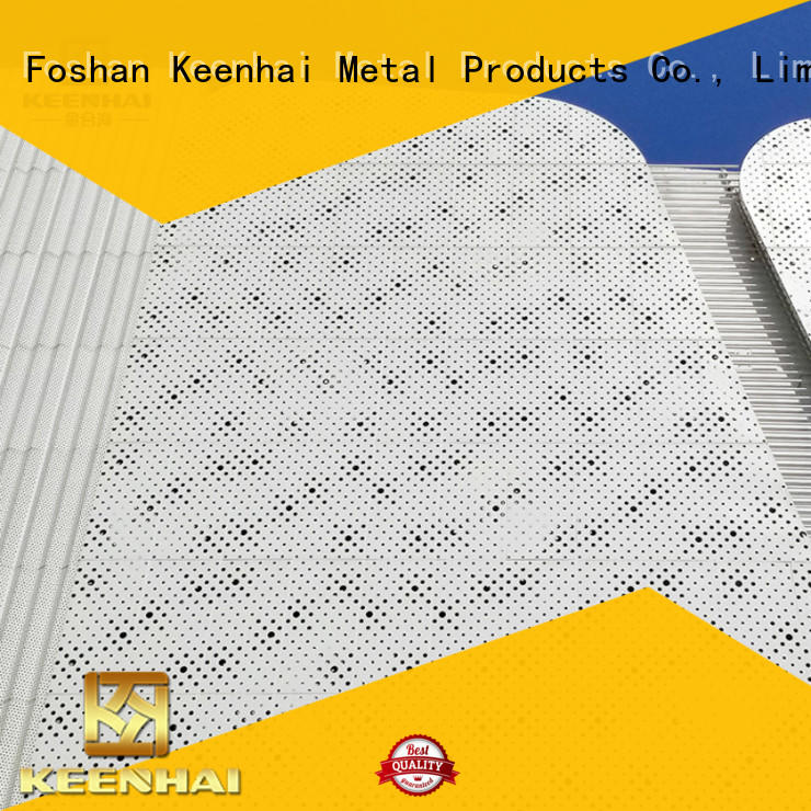 perforated wall panel perforated for hotel Keenhai