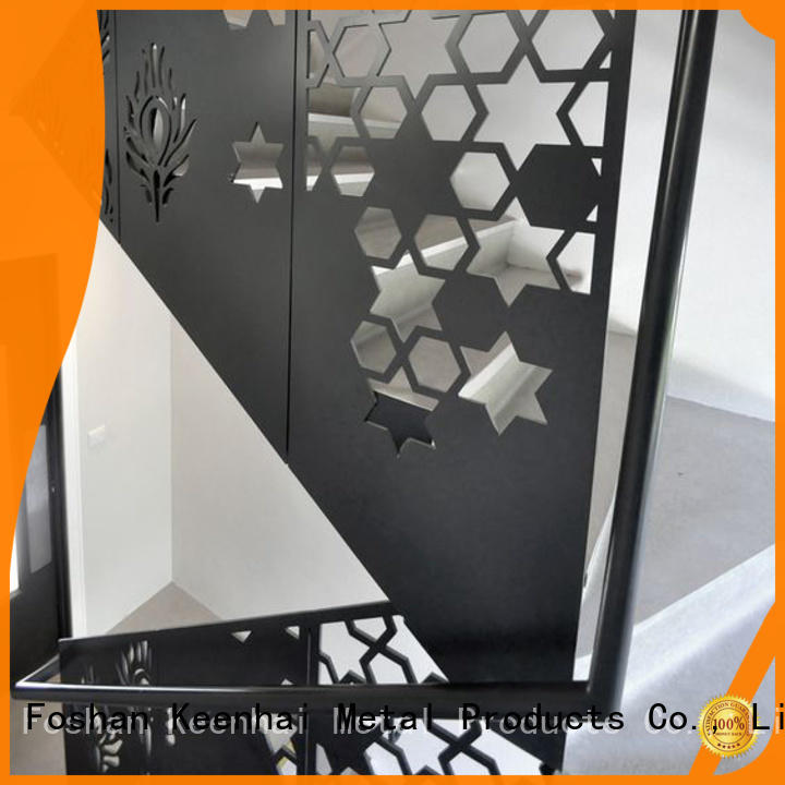 Keenhai low production cost metal screen panel for staircase