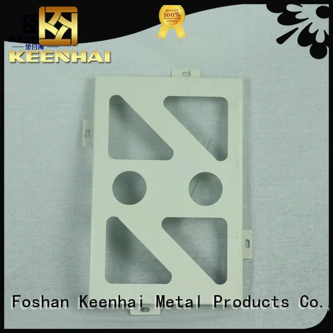 cut perforated aluminum ceiling tiles supplier for decoration Keenhai