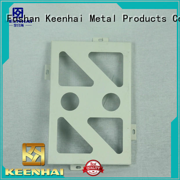Keenhai fantastic perforated aluminum ceiling tiles supplier for decoration