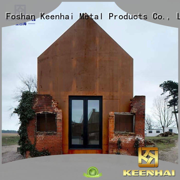 exquisite corten steel wall panels provider for decoration