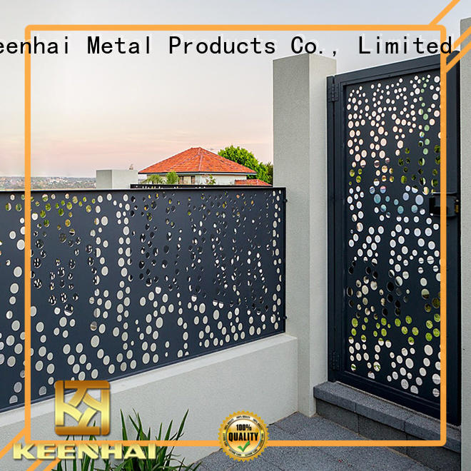 cheap garden fencing outdoor for hotel Keenhai