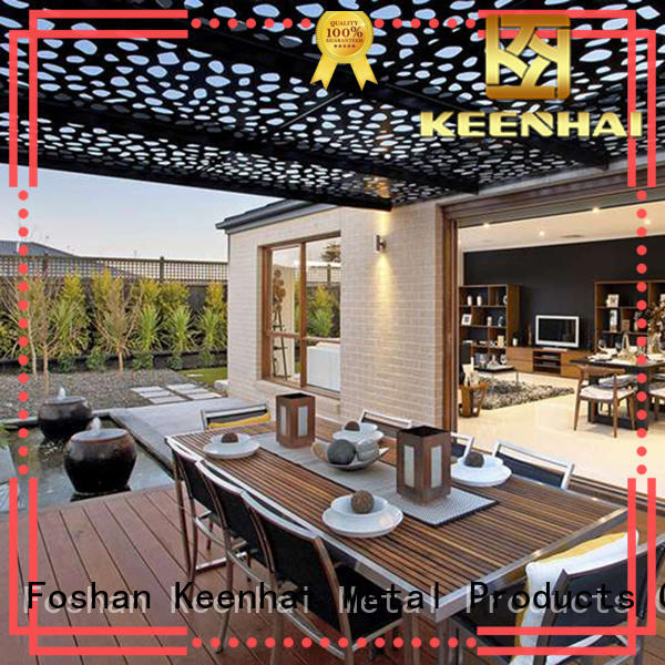 perforated laser cut ceiling supplier for decoration Keenhai