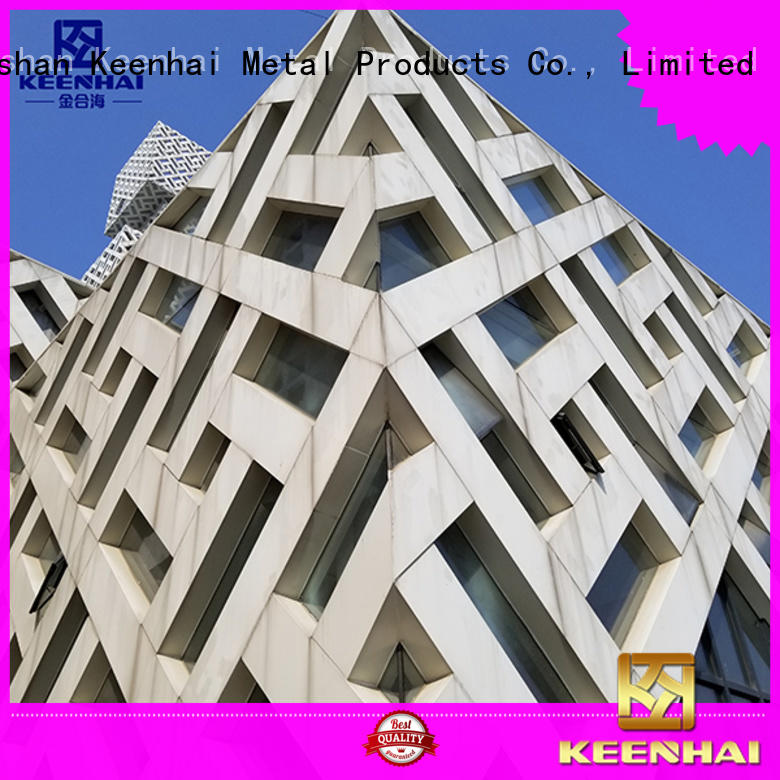 panel external wall cladding supplier for decoration Keenhai